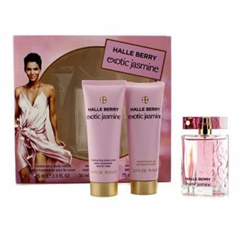Exotic Jasmine Coffret: Eau De Parfum Spray 30ml/1oz + Moisturizing Body Lotion 75ml/2.5oz + Sensual Shower Gel 75ml/2.5