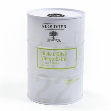 A L'Olivier Extra Virgin Olive Oil in a Stoneware Crock