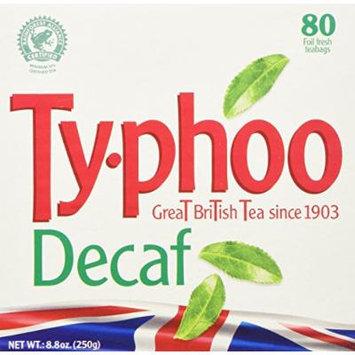 Typhoo Tea DECAF, 80-count by Typhoo [Foods]