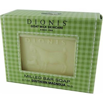Dionis Original Goat Milk Skincare, Milled Bar Soap, 2.7 Ounce (Pack of 3) (Southern Magnolia)