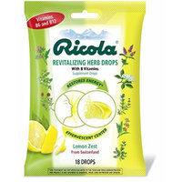 Ricola Revitalizing Herb Drops, 18 Drops Pack of 5