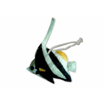 Natural Loofah Multi-Purpose Scrubber - Banner Angelfish