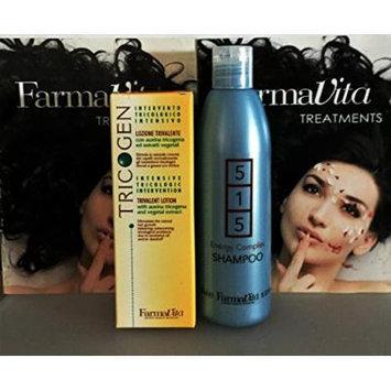 Tricogen Lotion 100 Ml (3.37 Fl. Oz) Plus 515 Energy Complex Shampoo 250ml