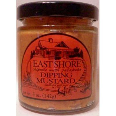 East Shore Chipotle with Jalapeno Dipping Mustard-5 oz .