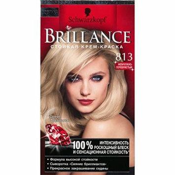 Brillance Intensive Color Creme (813 Satin Blond)