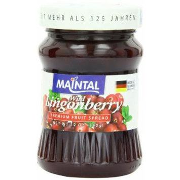 Maintal Fruit Spread, Wild Lingonberry, 12 Ounce
