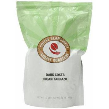 Dark Costa Rican Tarrazu, Whole Bean Coffee, 16 Ounce Bags (Pack of 3)