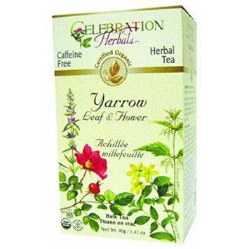 Celebration Herbals Organic Yarrow Leaf Flower Bulk Tea