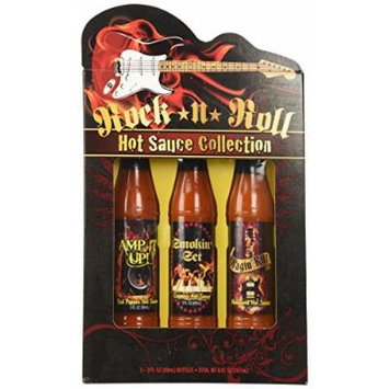 Rock N Roll Hot Sauce Collection Gift Set