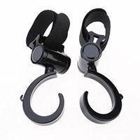 2pcs Baby Carriage Hooks Pothook Hanger 360 Degrees Rotation for Babies Stroller Accessory PALADIA