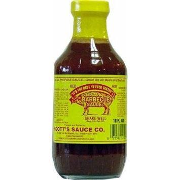 Scott's Spicy BBQ Sauce - Fat and Sugar Free, 16 Fl Oz Pack of 3