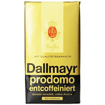 Dallmayr Decaffeinated Ground Coffee, 17.6 Ounce