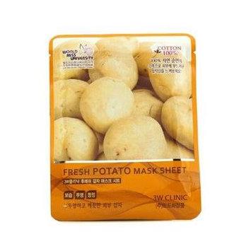 3W Clinic Mask Sheet - Fresh Potato - 10pcs