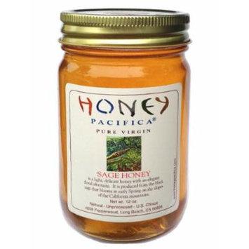 Honey Pacifica Sage Raw Honey, 16 oz