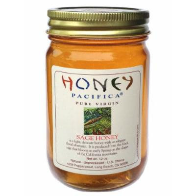 Honey Pacifica Sage Raw Honey, 16 oz
