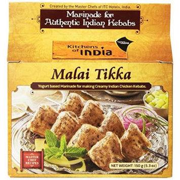 Kitchens of India Marinade, Malai Tikka, 5.3 Ounce (Pack of 6)