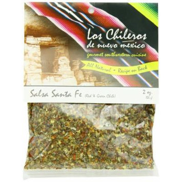 Los Chileros Salsa Santa Fe, Red and Green, 2 Ounce