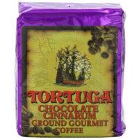 Tortuga Chocolate Cinnarum Gourmet Ground Coffee, 8 Ounce Bag