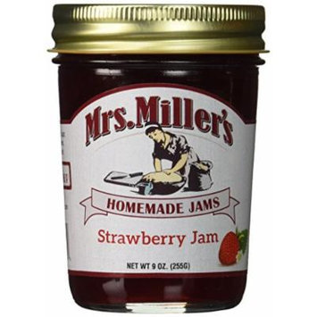 Mrs. Miller's Homemade Jam, Strawberry, 8 Ounce