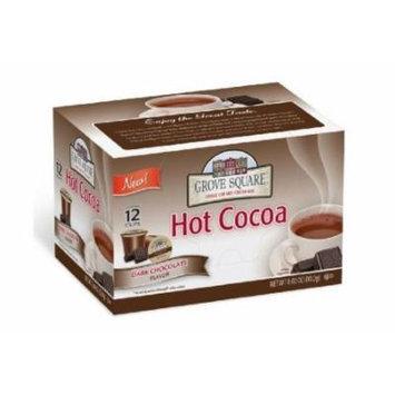 Grove Square Single Serve Hot Cocoa Cups,dark Chocolate,72 Count.