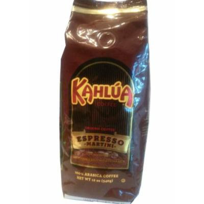 Kahlua Ground Coffee Espresso Martini Flavor Limited Edition 12 Oz. (1 bag)