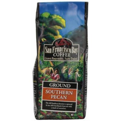 San Francisco Bay Coffee Ground, Southern Pecan, 12 Ounce