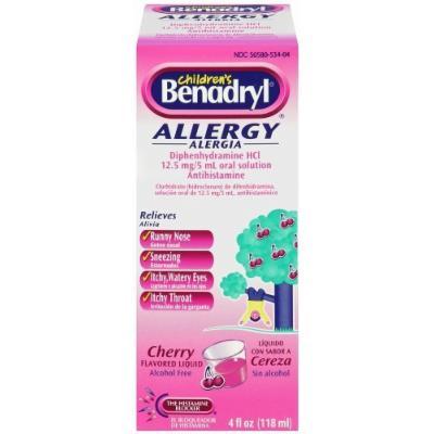 Children's BENADRYL® Allergy Liquid, Cherry