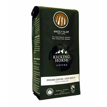 Kicking Horse Coffee, Grizzly Claw, Ground Coffee, 10 Ounce