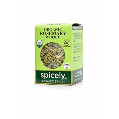 Spicely Organic Rosemary Whole - Compact