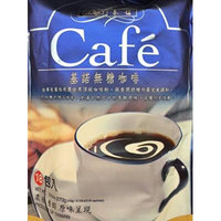 9.5oz Gino Cafe 2 in 1 Instant Coffee Mix SUGAR FREE, 18 Sachets, Pack of 1