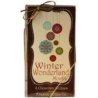 Fireside Coffee Gourmet Coffee Gift Set Winter Wonderland Mocha Variety Pack of 8 Chocolate Coffees