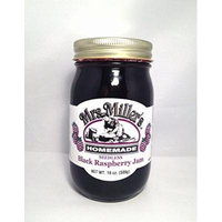 HUGE 18 oz Seedless Black Raspberry Jam, Amish and Homemade!