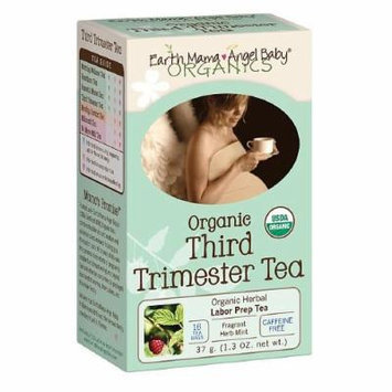 Earth Mama Angel Baby Organic Herbal Uterine Tonic Tea, Third Trimester 16 bags