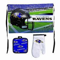 NFL Baltimore Ravens Premium Barbeque Tailgate Set