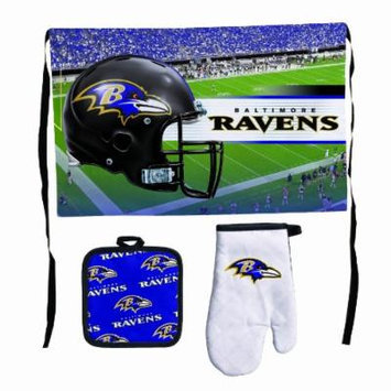 NFL Baltimore Ravens Premium Barbeque Tailgate Set
