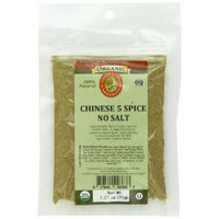 Aromatica Organics Salt Free Chinese 5 Spice Blend, 1.25-Ounce