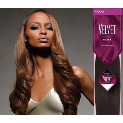 OUTRE Velvet Remi Human Hair Weave Yaki 8
