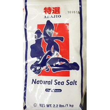 2.2 Pounds Arajio Natural Sea Salt by JFC (One Bag Per Order)
