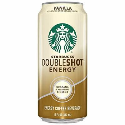 Starbucks Doubleshot Energy Coffee, Vanilla, 15 Ounce Cans, 12 Count