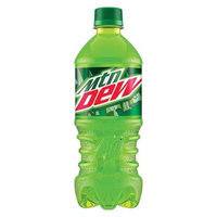 Mountain Dew, 20 Oz (Pack of 24)