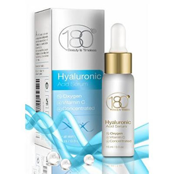 180 Cosmetics Hyaluronic Acid Serum with Vitamin C and Oxygen, 0.5-Oz