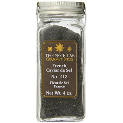 The Spice Lab French Sea Salt, Caviar de Sel, 3.38 Ounce