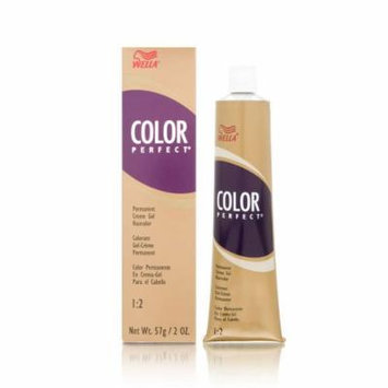 Wella Perfect Hair Color Permanent Creme Gel Tube, 8n Light Blonde, 2 Ounce