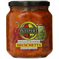 Passport Bruschetta, Artichoke and Piquillo Pepper 18.7 Ounce (Pack of 6)