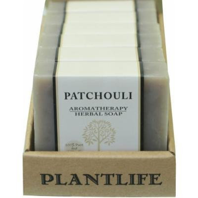 Value 6 Pack-Patchouli 100% Pure & Natural Aromatherapy Herbal Soap- 4 oz each