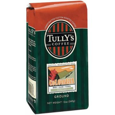 Tully's Coffee Colombian, Ground , 12 Ounce Bags (Pack of 3)