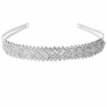 Shining Rhinestone Headband Bridal Bridesmaid Wedding Tiara
