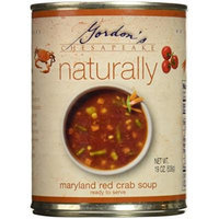 Gordon's Natural Veg Crab Soup, 19-Ounce (Pack of 6)