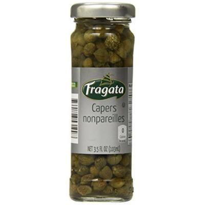 Fragata Nonpareille Capers, 3.5-Ounce Jars (Pack of 6)