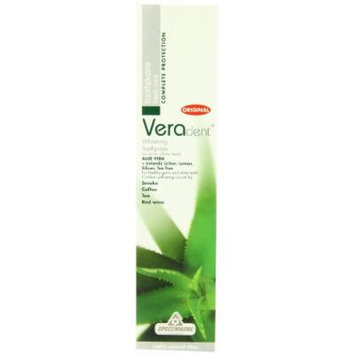 Veradent Whitening Natural Toothpaste, 3.4-Ounce Tube (Pack of 2)